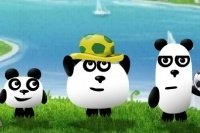 3 Panda in Brasile