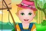 Baby Juliet va a pesca