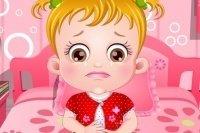 Baby Hazel e il mal di pancia