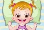 Baby Hazel gioca