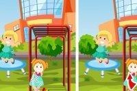 Cerca le differenze – Giochi all'aperto
