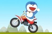 Corsa in motocicletta di Doraemon