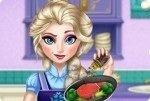 Elsa in cucina