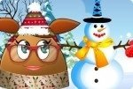 Il pupazzo di neve di Pou