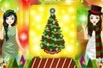 La gara di decorazioni dell'albero di Natale