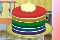 La torta arcobaleno 2
