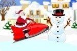 Motoslitta di Babbo Natale