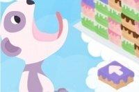 Orso ghiotto di torte