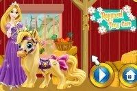 Prenditi cura dei pony di Raperonzolo