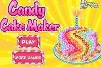Prepara una torta di dolcetti