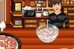 Prepara la pizza con Bieber
