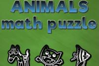 Puzzle di Matematica con gli Animali