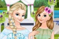 Sposa Elsa e Damigella Anna