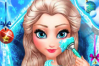 Elsa Principessa del Ghiaccio Make-Over