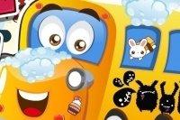 Lavaggio dello scuolabus