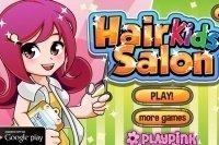 Salone da parrucchiera per bambini